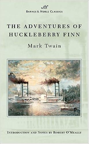 Amazoncom Adventures Of Huckleberry Finn Barnes Noble Classics