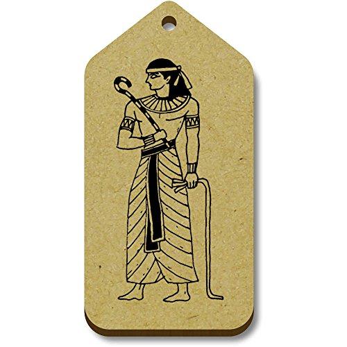 10 'Pharaoh 66mm Azeeda egiziano' regalo X bagaglio 34mm tg00059805 Tag gCxSB