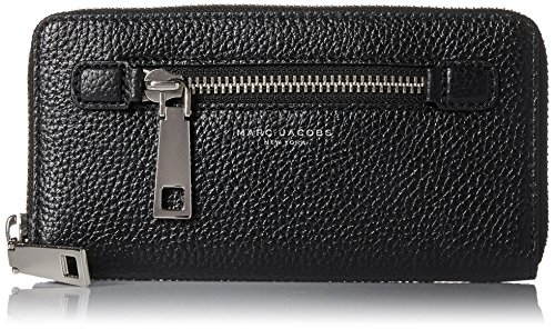 UPC 889732481642, Marc Jacobs Gotham Continental Wallet Checkbook Wallet Black