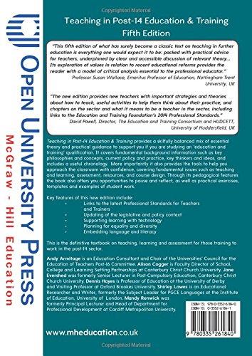 Teaching In Post-14 Education & Training UK Higher Education