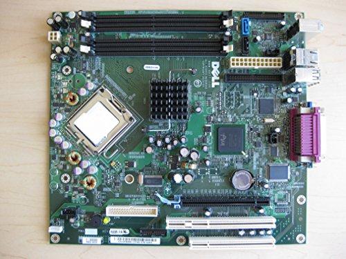 Genuine Dell FH884 ND237 F8096 GX620 Desktop DT Intel 945 Express LGA775 Socket 755 System Computer Logic Main System Board Compatible Part Numbers: ND237, F8096, FH884, HJ781 , X9681, (Socket Lga775 Ddr2 Pci Express)