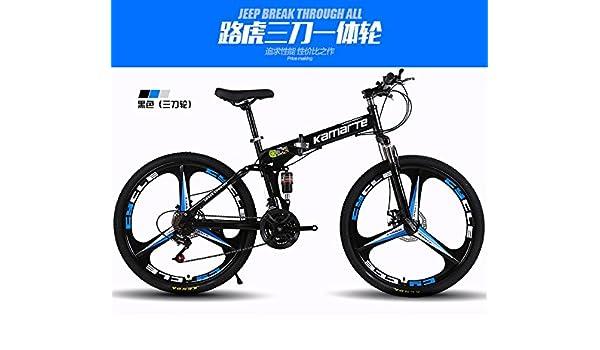 El acolchado plegable para bicicleta de montaña marco de acero de alto carbono, 26