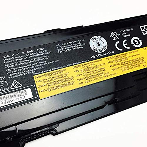 Lenovo 51j0497 Notebook Battery - TYJYUN 42T4690 51J0497 42T4691 42T468911.1V 44Wh 3900mAh Laptop Battery Compatible with Lenovo ThinkPad T400s T410s