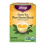 Yogi Tea Simply Decaf Green Tea, 16-count (Pack of6)
