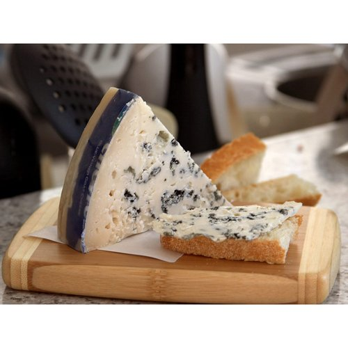 Capra Verde - Goat Blue Cheese (Quarter Wheel) Approximately 3.5 Lbs