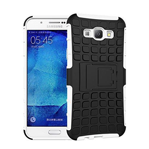 Slim Shockproof Case for Samsung A8 (White) - 6