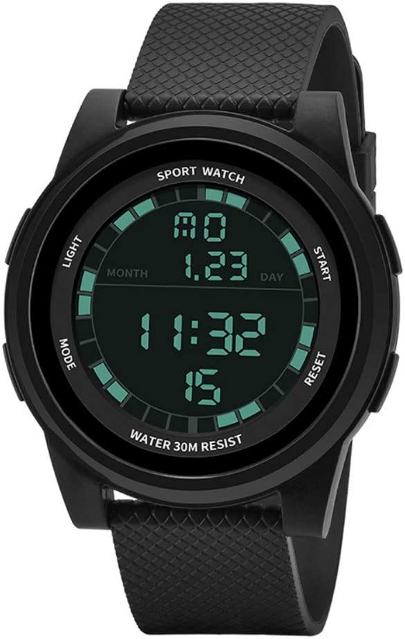gengyouyuan Reloj Deportivo Reloj Militar Impermeable al Aire Libre Reloj electrónico Infantil táctico Juvenil.