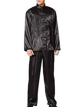Zhhlaixing Traje Fino Camisa de Kung Fu Tai Chi Conjunto de ...