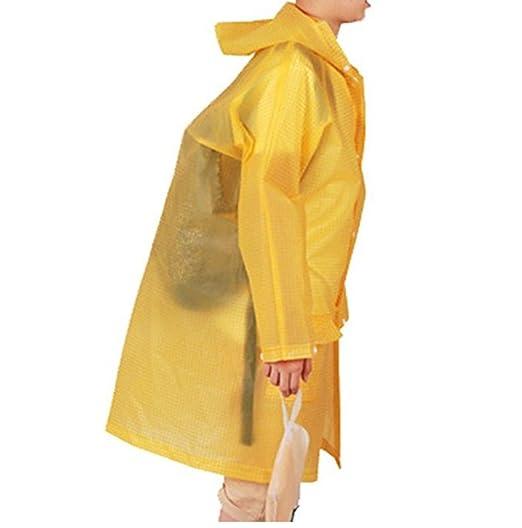 4c2945632c17 Amazon.com  Skyseen Kids Plaid Style Hooded Rain Poncho Raincoat ...
