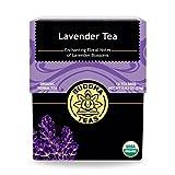 Organic Lavender Tea, 18 Bleach-Free Tea Bags - Organic Caffeinated Tea is a Great Source of...