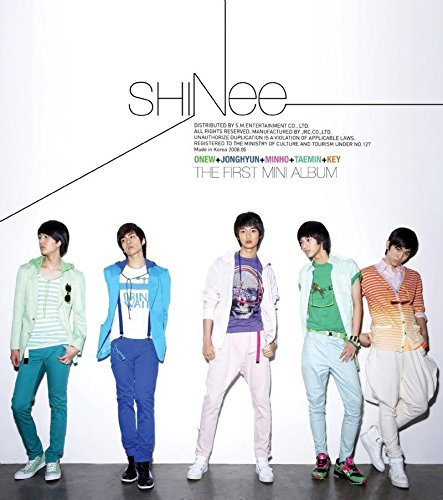 SHINEE [REPLAY] 1st Mini Album CD+Photobook+Tracking Number K-POP SEALED