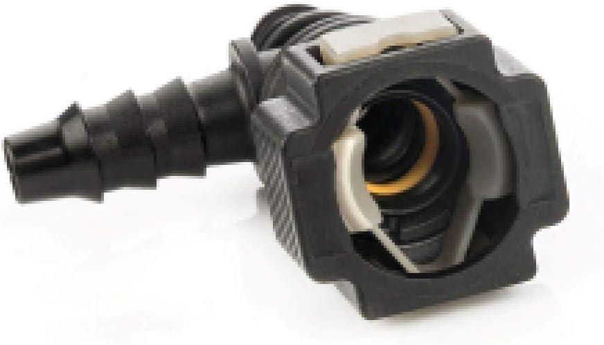 LST Kraftstoffleitung Verbinder Schlauchkupplung Schnellverschluss 8 mm T-Winkel