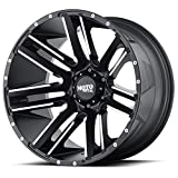 18'' Moto Metal MO978 Razor Wheel - Black 18x9 6x114 +18 MO97889064518