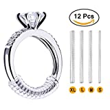 Arts & Crafts : Invisible Ring Size Adjuster for Loose Rings – Ring Guard, Ring Sizer, 4 Sizes Fit Almost ANY Ring. [12 Pack]