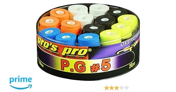 Pro Pros Overgrip P.G.5 Colored Perforated 30 Piezas: Amazon.es ...