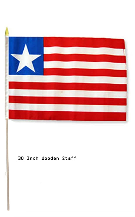 Amazon com : ALBATROS 12 in x 18 in (6 Pack) Liberia Country