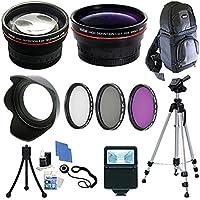 58mm Ultimate Accessory Kit for Canon Rebel T3i, T4i, T5 T5i 60D 70D Digital SLR Camera
