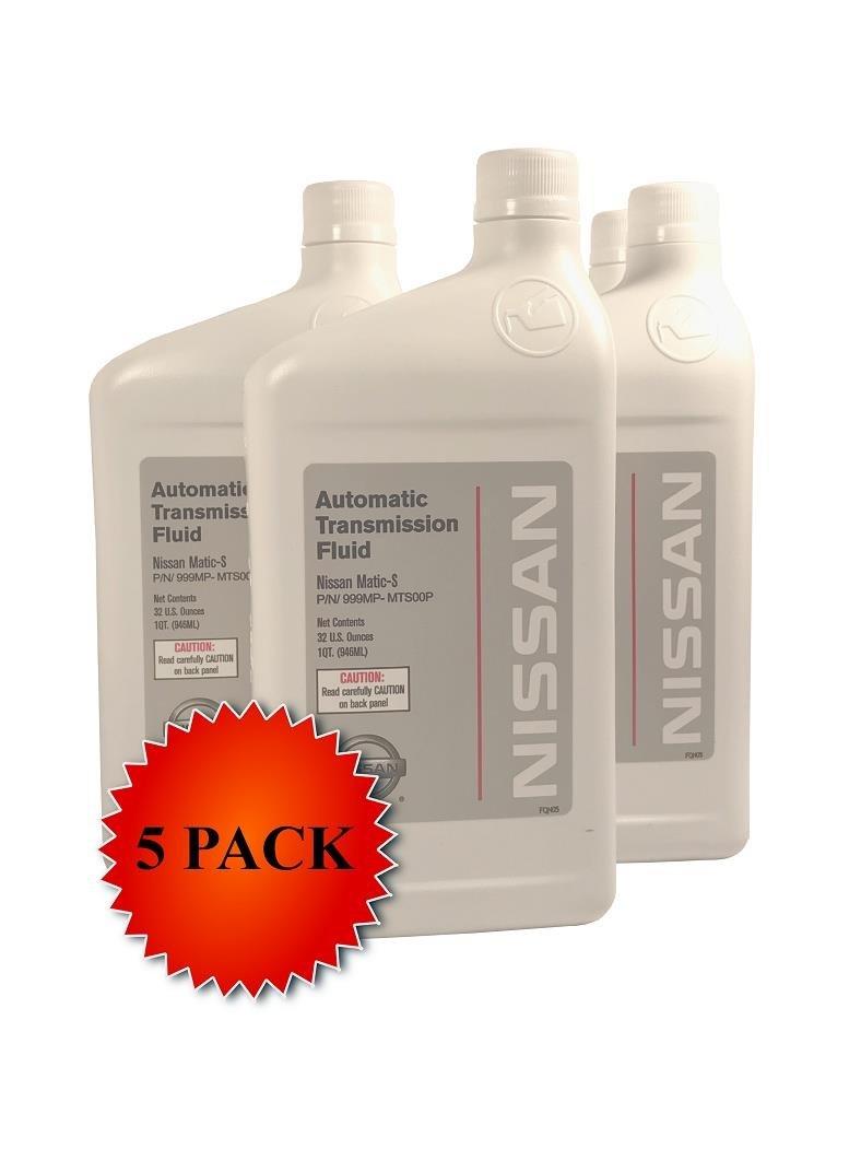 Genuine Nissan OEM Matic-S Transmission Fluid 999MP-MTS00P (5 Quarts)
