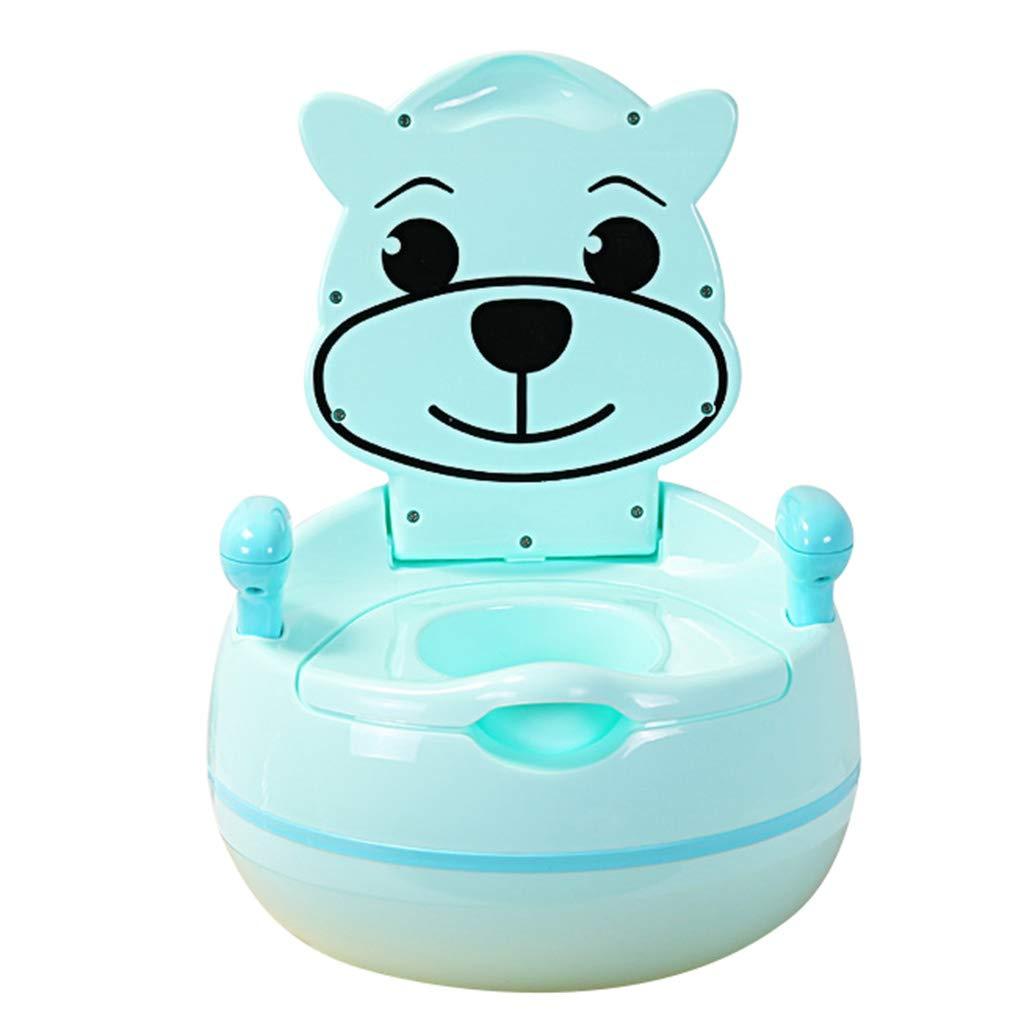 子供のトイレ男性と女性の赤ちゃんの子供赤ちゃんの幼児トイレトイレ引き出しトイレABSトイレ1-7歳の子供に適し60KGに耐えることができる おむつトイレ (Color : Blue, Size : 33*23cm/13*9inch) 33*23cm/13*9inch Blue B07KJYNJC2