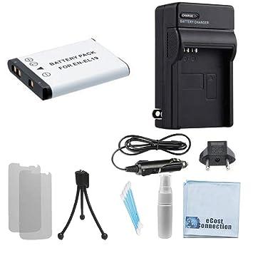 Amazon.com: Batería EN-EL19 High-Capacity +/Home Cargador de ...