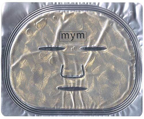 MyM 24k Gold Collegen Crystal Mask for Deep Tissue Rejuvenation and Collagen Renewal Mask X 10 Pcs.