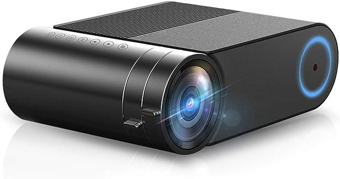 Opinión sobre Mini proyector Yg420 Native 720p Video portátil WiFi Beamer Led Proyector para 1080p Smartphone de Pantalla múltiple Proyector Yg421