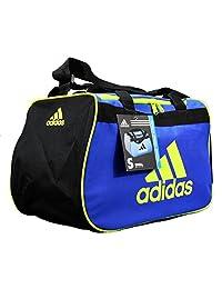 adidas Diablo Small Duffel Gimnasio bolsa deportiva Azul Neón Verde