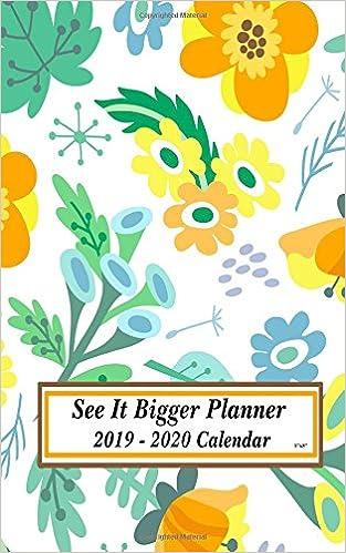 Personal Calendars 2020 Amazon.com: See It Bigger Planner 2019   2020 Calendar 5