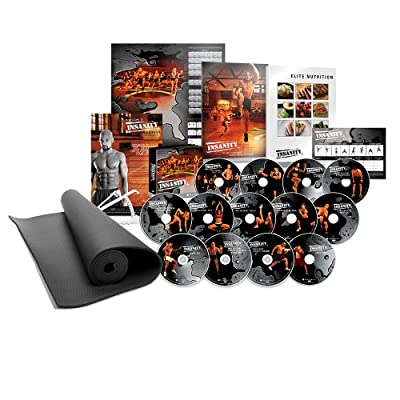 INSANITY DVD Workout - Deluxe Kit by Beachbody Inc.,
