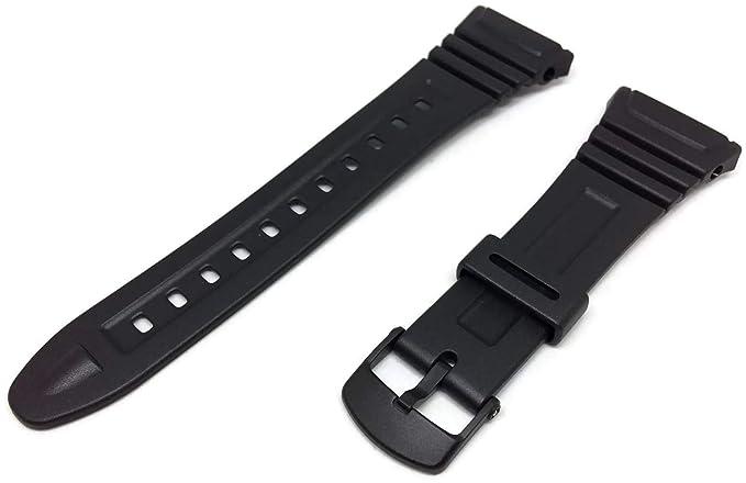 Casio 10076822 RelojResinaColor Para Correa Negro 3TFu1clKJ5