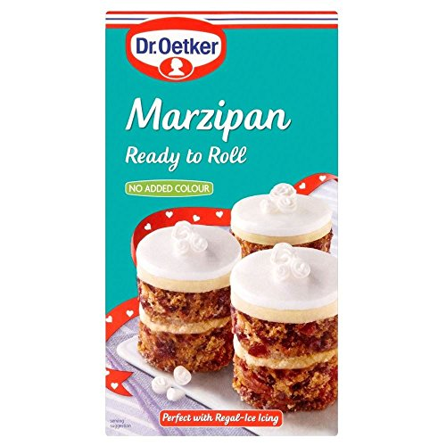 Dr. Oetker Ready to Roll Natural Marzipan (454g) - Pack of 6 by Dr. Oetker