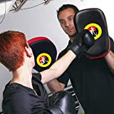 TLBTEK 1Pcs Taekwondo Kick Pad PU Muay Thai Pads