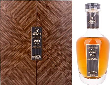 Gordon & MacPhail Gordon & MacPhail GLENLIVET Private Collection Single Malt Scotch Whisky 1954 41% Vol. 0,7l in Holzkiste - 700 ml