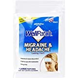 WellPatch Cooling Headache Pads, Migraine, 4