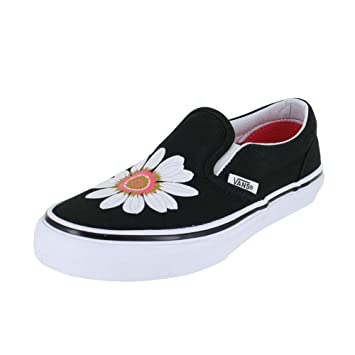 e78b4e05eec969 Vans Kids K Clasic Slip ON Flower Petals Black Paradise P Size 11.5