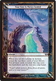 SCHEME Roots of All Evil MTG MAGIC ArE Eng