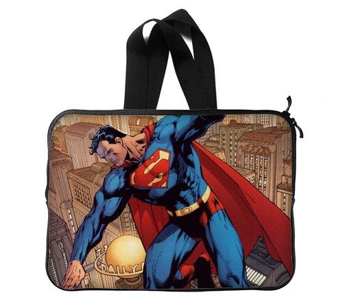 Superhéroe Superman volando Funda personalizada funda para portátiles bolsa de ordenador portátil de 13 pulgadas (