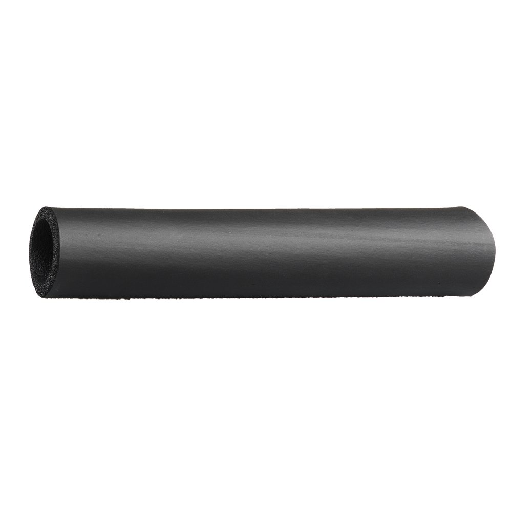 "Grip-Tek Black Foam Tubing Grips – NPVC Foam Handle Grips for Fitness, Home, Lawn and Garden, and Automotive Applications – 26"" Length, Fits Bar Diameter of 1.00'' (Pack of 2)"
