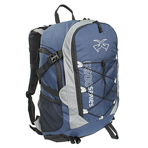 Piper Gear Boxer Backpack (Blue/Gray, 22x13x7.10-Inch) Review