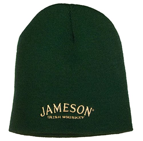 jameson-whiskey-beanie-hat-knit-cap-green
