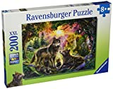 Ravensburger Wolf Family in the Sun 100 Piece Jigsaw Puzzle for Kids – Every Piece is Unique, Pieces Fit Together Perfectly