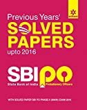 SBI PO Previous Years' Solved Papers 2017