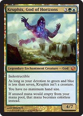 Amazoncom Magic The Gathering Kruphix God Of Horizons 152165