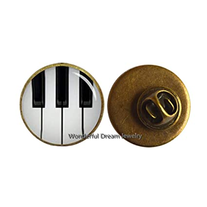 Amazoncom Piano Brooch Sheet Music Jewelry Piano Keys Keyboard