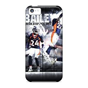 Iphone 5c MGE5975XcxO Provide Private Custom Lifelike Denver Broncos Image Protector Hard Phone Cover -EricHowe