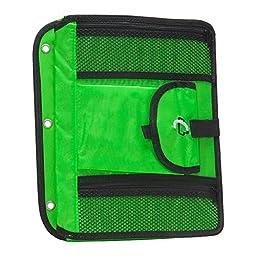 Case-it Locker Accessory 5-Tab File, Neon Green (ACC-21-NeoGrn)