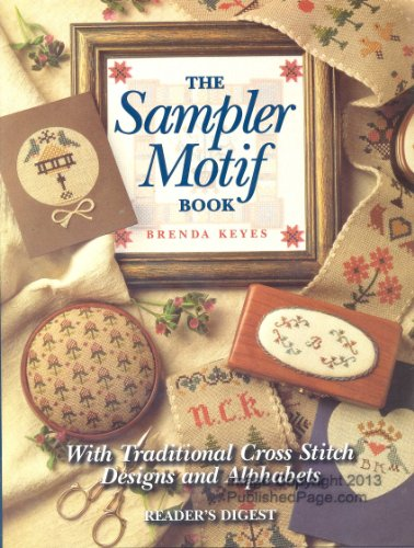 (Sampler Motif Book: With Traditional Cross-Stitch Designs and Alphabets)
