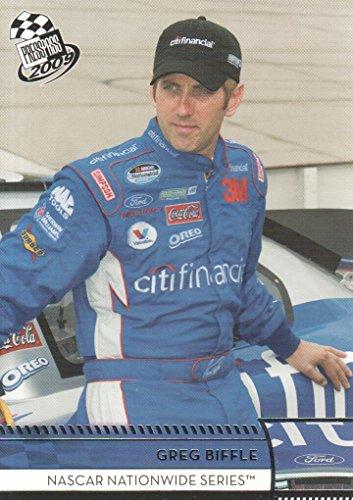 2009 Press Pass NASCAR Racing #38 Greg Biffle NASCAR Nationwide Series ()