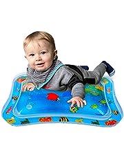 YIKANWEN Aufblasbare Baby Wasser Spielmatte,Auslaufsicher BPA-frei Wasser-Matte Spielzeug Spieldecke für Baby Säuglinge und Kleinkinder 66x50cm