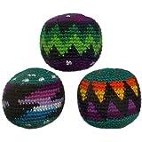 Set of 3 Hacky Sacks, Assorted Colors